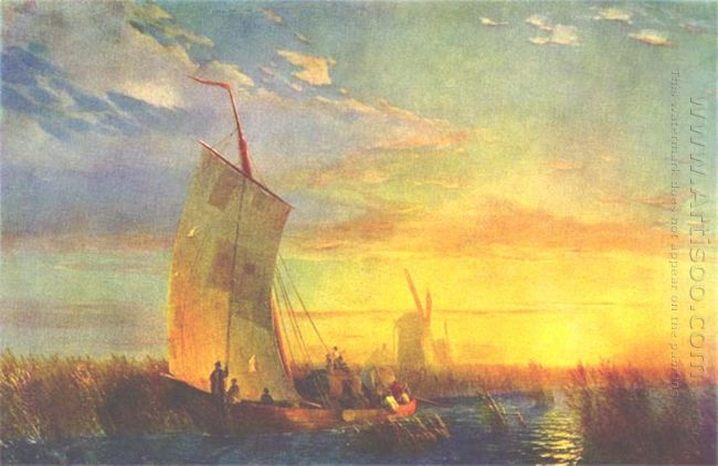 Rush On Dnepr Near Aleshki 1857