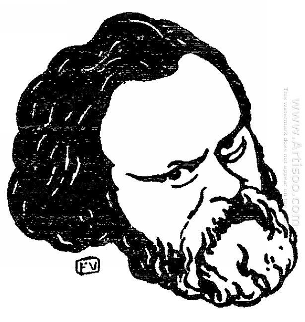 Russian Political Writer Alexander Herzen 1895