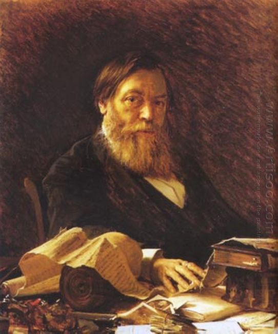 Russian Writer Pavel Melnikov 1876
