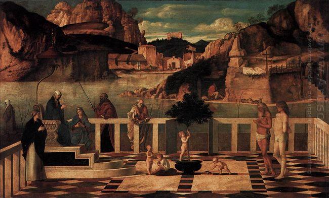 Sacred Allegory 1500