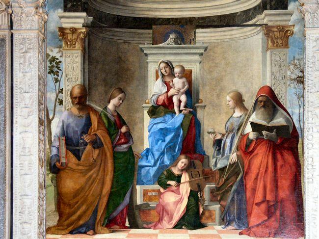 Sacred Conversation 1490