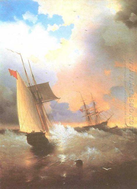 Sailing Ship 1870