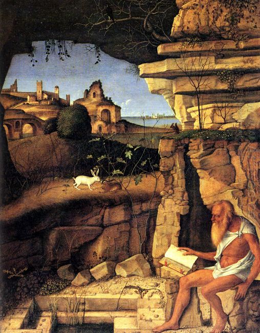 Saint Jerome Reading 1490