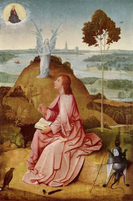 Saint John The Evangelist On Patmos 1485