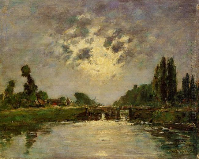 Saint Valery Sur Somme The Bridge On The Lock 1891