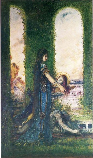 Salome In The Garden 1878