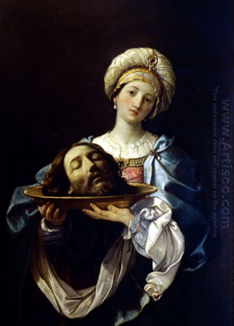 Salome With The Head Of John The Baptist 1635