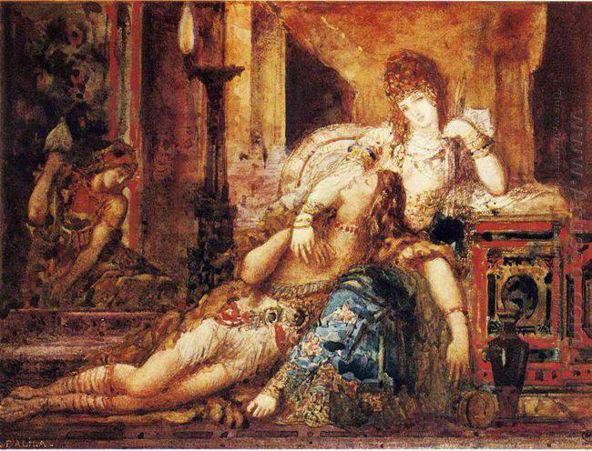 Samson And Delilah 1882