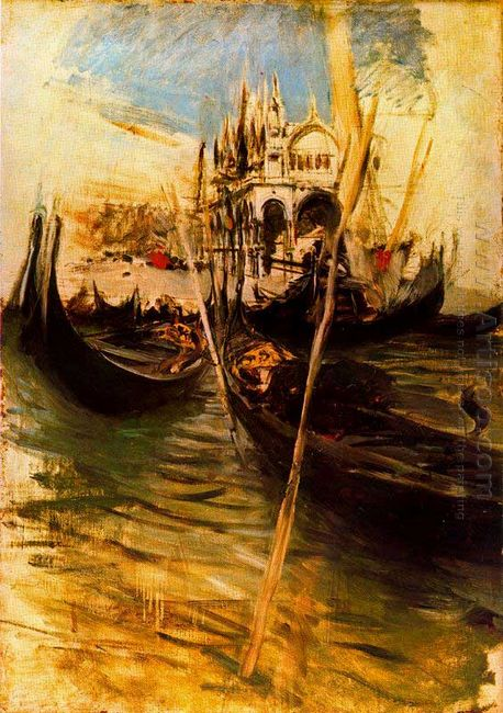 San Marco In Venice 1895