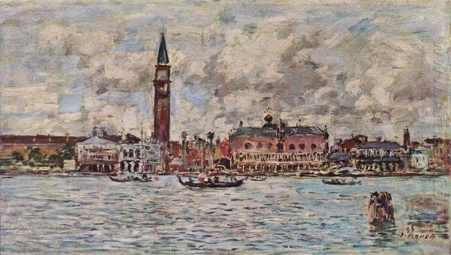 San Marco Square In Venice 1895