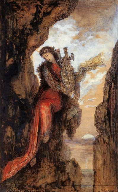 Sappho On The Cliff
