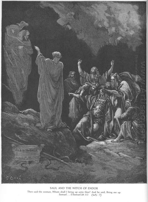 Saul And The Witch Of Endor 1866