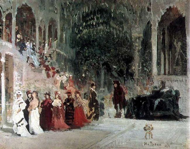 Scene From Balet Study 1874