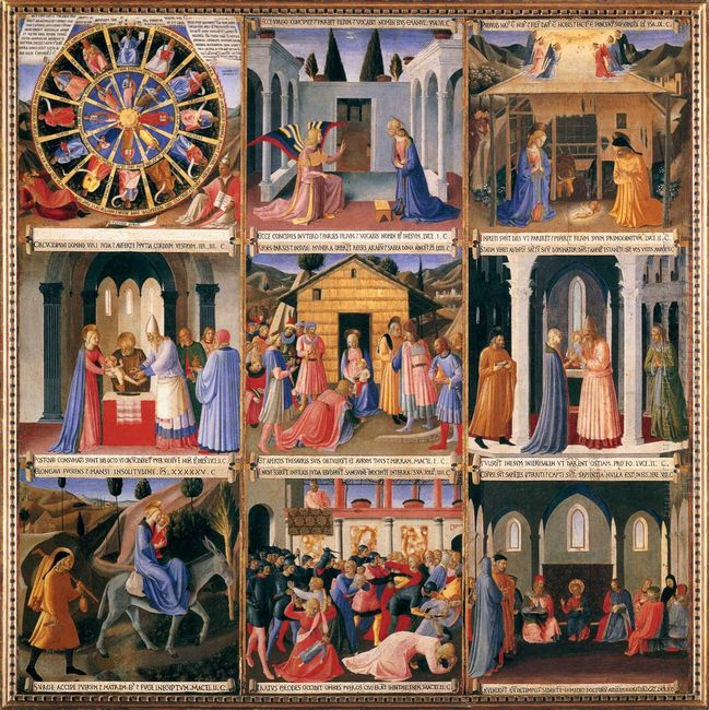 Scenes From The Life Of Christ 1452