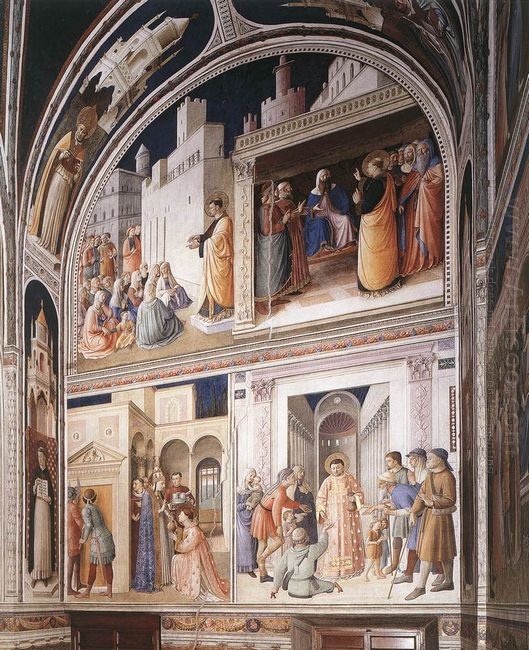 Scenes From The Lives Of Sts Lawrence And Stephen 1449