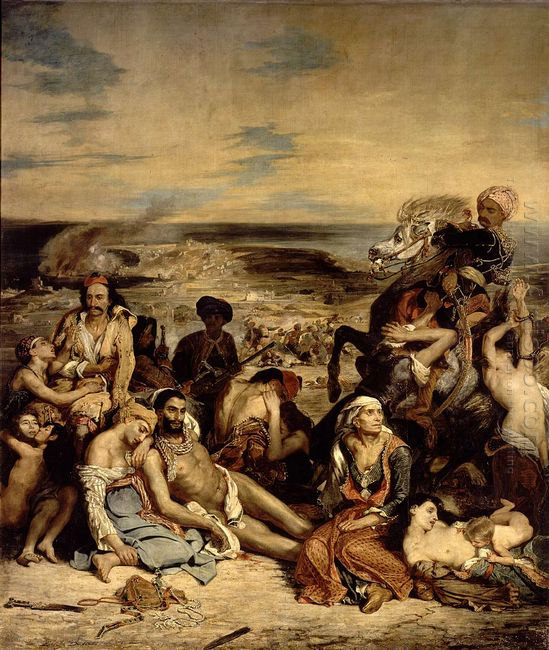 Scenes From The Massacre Of Chios 1822