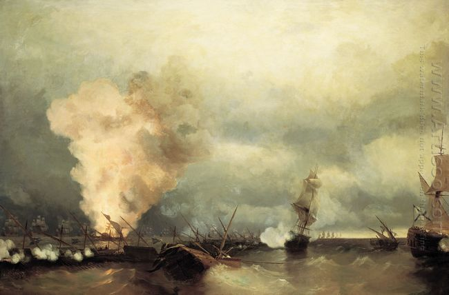 Sea Battle Near Vyborg 1846