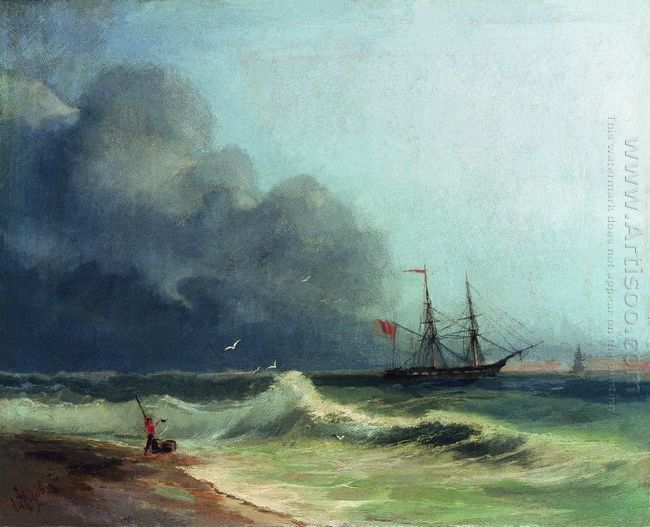 Sea Before Storm 1856
