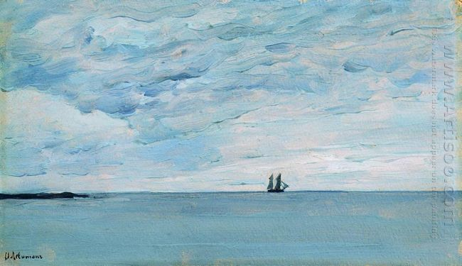 Sea By The Coasts Of Finland 1896