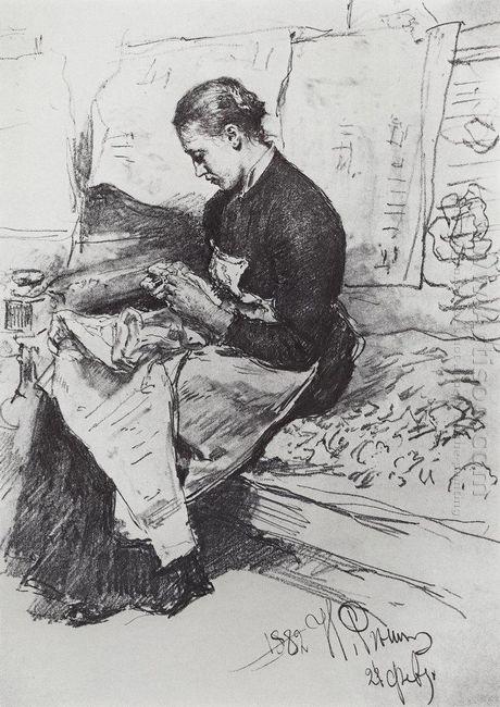 Seamstress 1882