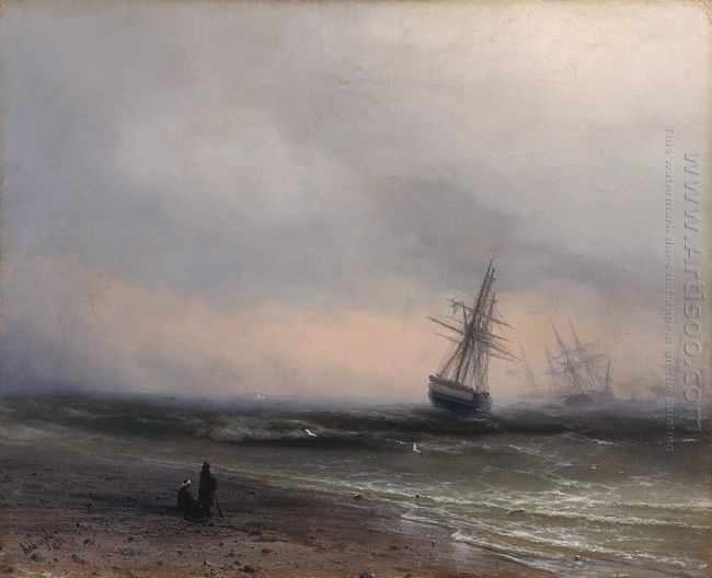 Seascape In Crimea 1866