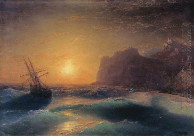 Seascape Koktebel 1889