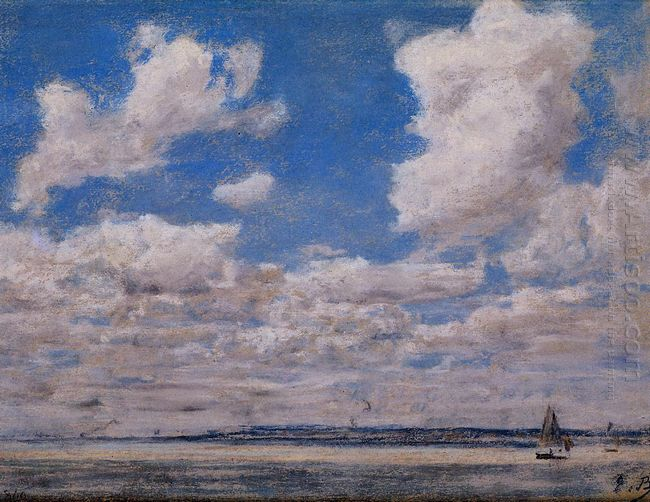 Seascape With Large Sky 1860