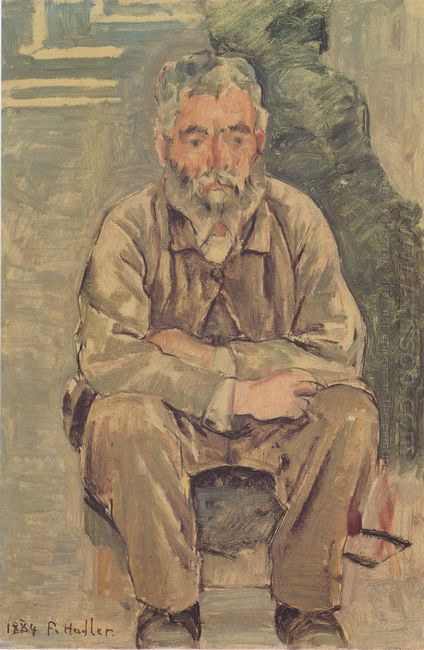Seated Bearded Man 1884