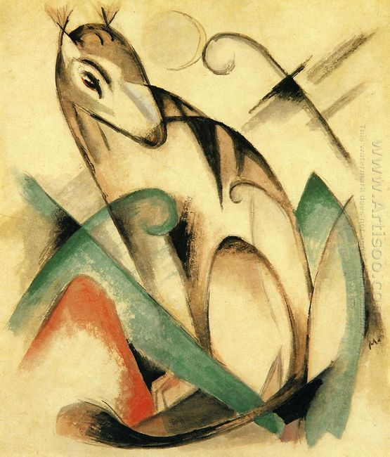 Seated Mythical Animal 1913