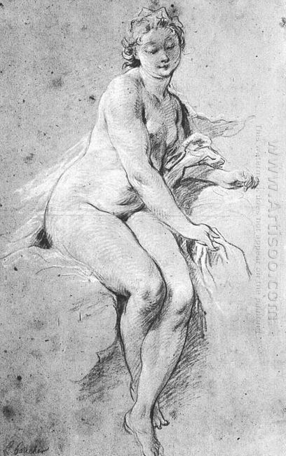 Seated Nude 1738