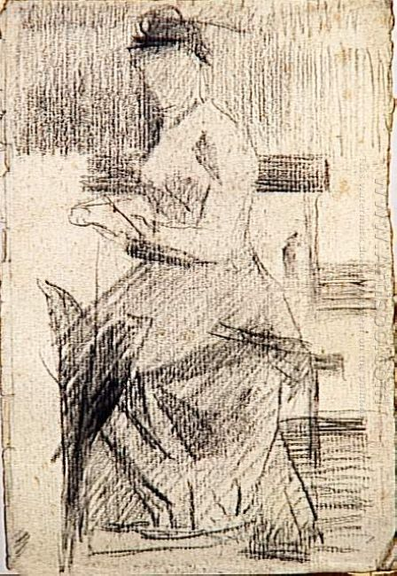 Seated Woman 1881