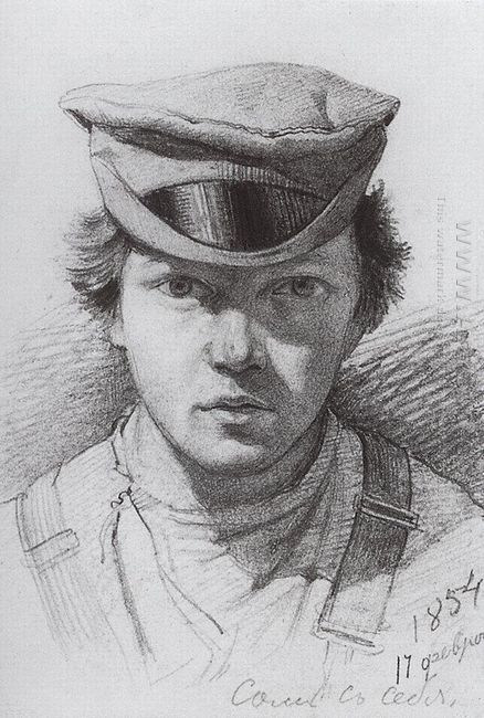 Self Portrait 1854