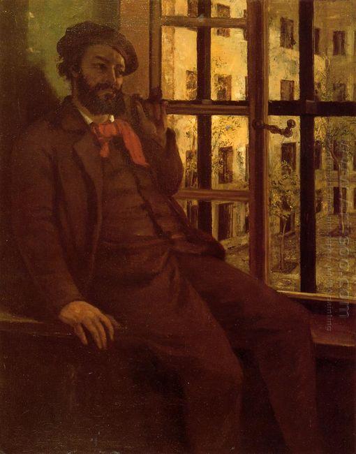 Self Portrait At Sainte Pelagie 1873