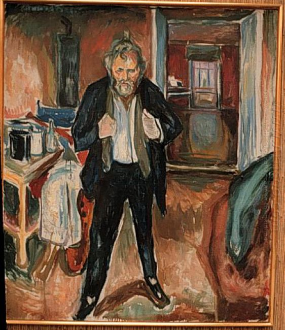 Self Portrait In Distress 1919