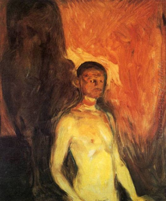 Self Portrait In Hell 1903