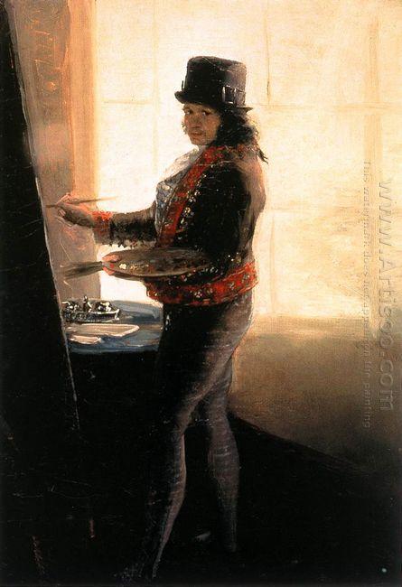 Self Portrait In The Studio