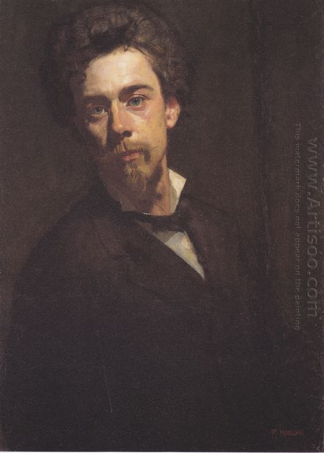 Self Portrait With Stand 1879