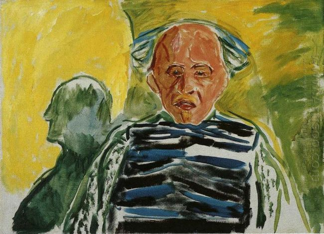 Self Portrait With Striped Pullover 1944