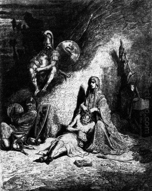 Semiramide Spidocchiatrice Di Straccioni 1854