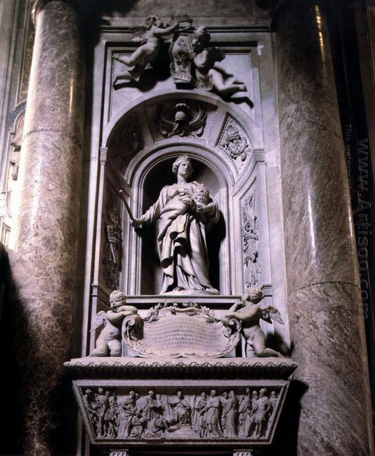 Sepulchre Of Matilda The Great Countess 1633