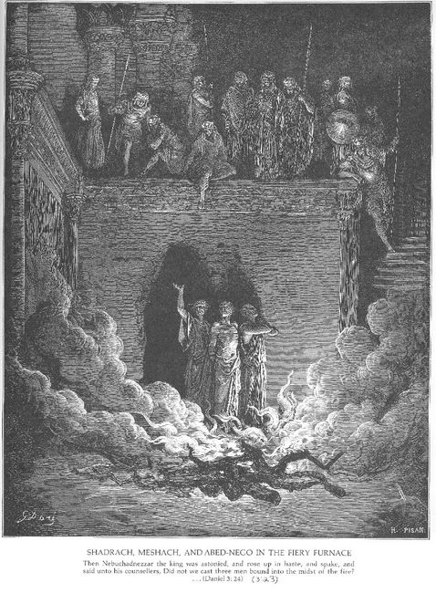 Shadrach Meshach And Abednego In The Furnace
