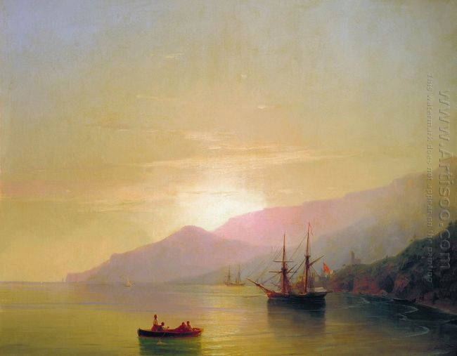 Ships At Anchor 1851