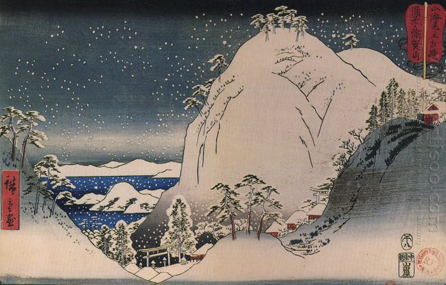 Shrines In Snowy Mountains