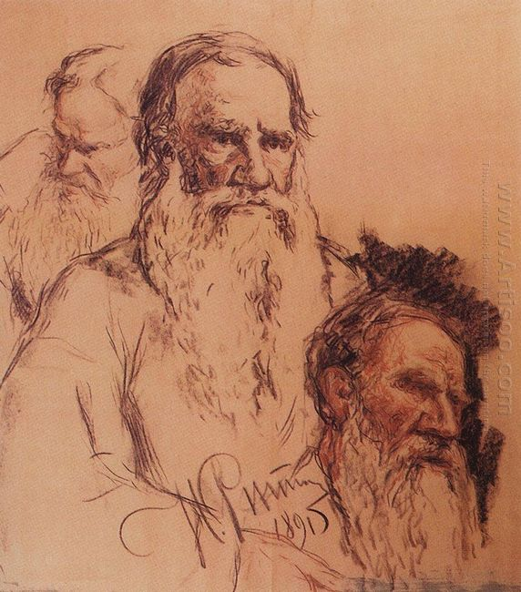 Sketches Of Leo Tolstoy 1891