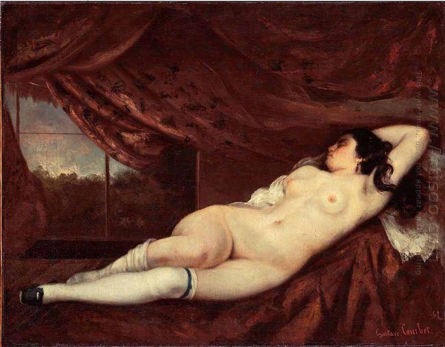 Sleeping Nude Woman 1862