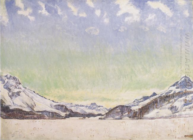 Snow In The Engadine 1907