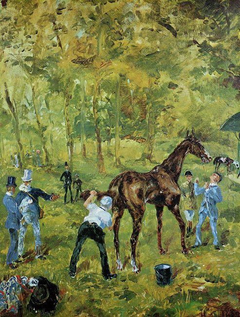 Souvenir Of Auteuil 1881