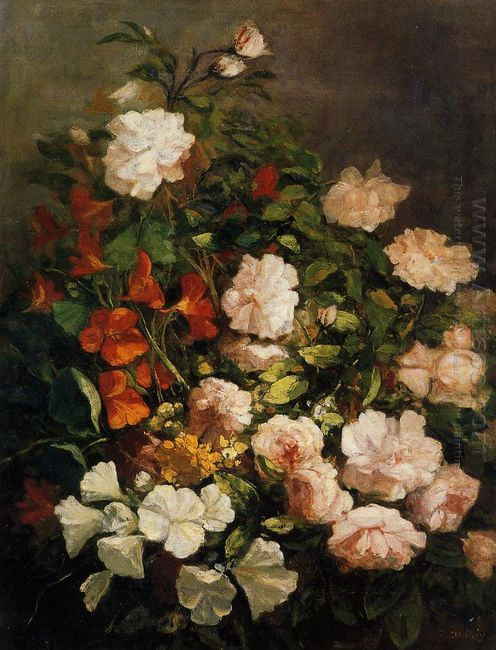Spray Of Flowers 1858