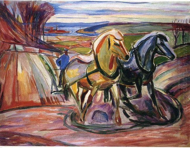 Spring Plowing 1916