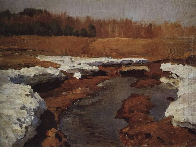 Springtime The Last Snow 1895 1